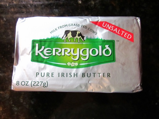 grass fed, pasteurized, Kerrygold